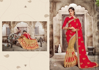 SAROJ GARIMA EXCLUSIVE FANCY SAREE CATALOG IN WHOLESALE BEST RATE BY GOSIYA EXPORTS (1)