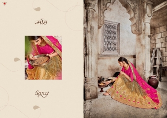SAROJ GARIMA EXCLUSIVE FANCY SAREE CATALOG IN WHOLESALE BEST RATE BY GOSIYA EXPORTS (13)
