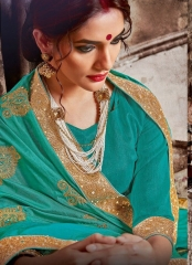 SAROJ GARIMA EXCLUSIVE FANCY SAREE CATALOG IN WHOLESALE BEST RATE BY GOSIYA EXPORTS