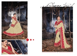 SAROJ MALAIKA FANCY SAREES WHOLESALE RATE AT GOSIYA EXPORTS SURAT WHOLESALE DEALER AND SUPPLAYER SURAT GUJARAT (3)