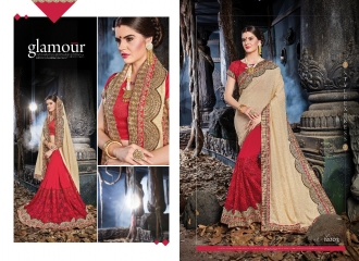 SAROJ MALAIKA FANCY SAREES WHOLESALE RATE AT GOSIYA EXPORTS SURAT WHOLESALE DEALER AND SUPPLAYER SURAT GUJARAT (5)