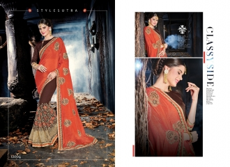 SAROJ MALAIKA FANCY SAREES WHOLESALE RATE AT GOSIYA EXPORTS SURAT WHOLESALE DEALER AND SUPPLAYER SURAT GUJARAT (8)