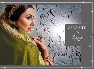 SAROJ SANA SILK FANCY SAREES WHOLESALE RATE AT GOSIYA EXPORTS SURAT WHOLESALE DEALER AND SUPPLAYER SURAT GUJARAT (8)