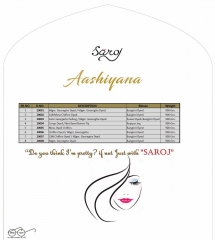 SAROJ SAREE ASHIYANA BEAUTIFUL PART WEAR INDIAN SAREE CATALOG IN WHOLESALE BEST RATE BY GOSIYA EXPORTS SURAT (11)