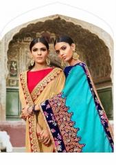 SAROJ SAREE ASHIYANA BEAUTIFUL PART WEAR INDIAN SAREE CATALOG IN WHOLESALE BEST RATE BY GOSIYA EXPORTS SURAT