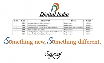 SAROJ SAREES DIGITAL INDIA EXCLUSIVE FANCY SAREE CATALOG IN WHOLESALE BEST RATE BY GOSIYA EXPORTS (11)