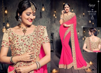 SAROJ SAREES MISS WORLD 2 COLLECTION EMBROIDERED SAREES WHOLSALE SELLER BEST RATE BY GOSIYA EXPORTS SURAT (2)