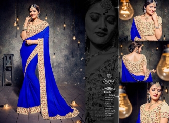 SAROJ SAREES MISS WORLD 2 COLLECTION EMBROIDERED SAREES WHOLSALE SELLER BEST RATE BY GOSIYA EXPORTS SURAT (3)