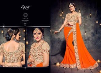 SAROJ SAREES MISS WORLD 2 COLLECTION EMBROIDERED SAREES WHOLSALE SELLER BEST RATE BY GOSIYA EXPORTS SURAT (5)