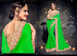 SAROJ SAREES MISS WORLD 2 COLLECTION EMBROIDERED SAREES WHOLSALE SELLER BEST RATE BY GOSIYA EXPORTS SURAT (6)