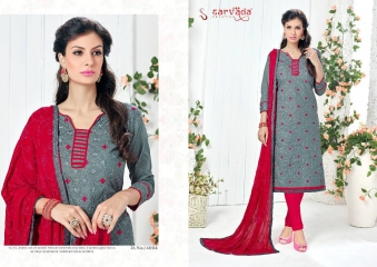 SARVADA BY SONAKSHI DESIGNER WITH WORK COTTON SUITS ARE AVAILABLE AT WHOLESALE BEST RATE BY GOSIYA EXPORTS (1)