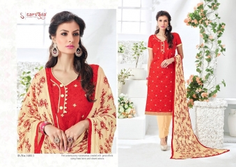 SARVADA BY SONAKSHI DESIGNER WITH WORK COTTON SUITS ARE AVAILABLE AT WHOLESALE BEST RATE BY GOSIYA EXPORTS (12)