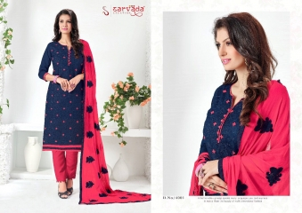 SARVADA BY SONAKSHI DESIGNER WITH WORK COTTON SUITS ARE AVAILABLE AT WHOLESALE BEST RATE BY GOSIYA EXPORTS (2)