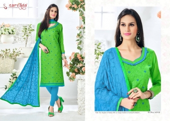 SARVADA BY SONAKSHI DESIGNER WITH WORK COTTON SUITS ARE AVAILABLE AT WHOLESALE BEST RATE BY GOSIYA EXPORTS (7)