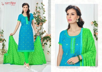 SARVADA BY SONAKSHI DESIGNER WITH WORK COTTON SUITS ARE AVAILABLE AT WHOLESALE BEST RATE BY GOSIYA EXPORTS (8)