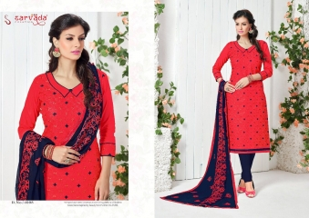 SARVADA BY SONAKSHI DESIGNER WITH WORK COTTON SUITS ARE AVAILABLE AT WHOLESALE BEST RATE BY GOSIYA EXPORTS (9)