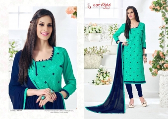 SARVADA CREATION COTTON KING CASUAL DRESS MATERIAL BUY ONLINE WHOLESALE BEST RATE BY GOSIYA EXPORTS FROM SURAT (10)