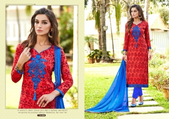 SARVADA FABULOUS VOL 2 COTTON CAMBRIC SALWAR KAMEEZ BUY BEST RATE BY GOSIYA EXPORTS SURAT WHOLESALE (4)