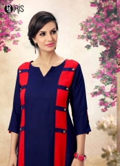 SARVADA IRIS PLUSH EXCLUSIVE FANCY KURTIS CATALOG SUPPLIER FROM SURAT WHOLESALE BEST RATE BY GOSIYA EXPORTS SURAT