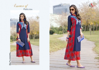 SAWAN TEXTILE JESSICA VOL 1 HEAVY RAYON PRINTS PARTY WEAR KURTIS BUY AT WHOLESALE (1)