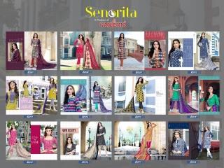 SENORITA VOL 2 BY GANESHA PURE COTTON CASUAL WEAR COTTON DRESS (14)