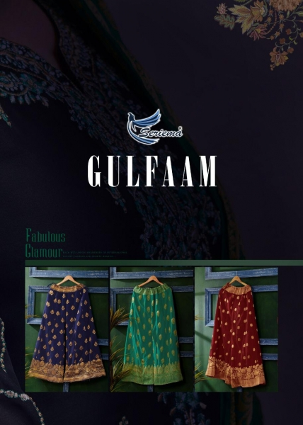 SERIEMA PRESENTS GULFAAM SATIN GEORGETTE FABRIC READYMADE SHARARA SUIT WHOLESALE DEALER BEST RATE BY GOSIYA EXPORTS SURAT (6)