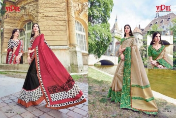 SERIES 34011 BY VIPUL FASHION CHILLI SILK SAREES DIWALI FESTIVAL COLLECTION WHOLESALE BEST ARTE BY GOSIYA EXPORTS SURAT (168)