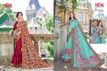 SERIES 34011 BY VIPUL FASHION CHILLI SILK SAREES DIWALI FESTIVAL COLLECTION WHOLESALE BEST ARTE BY GOSIYA EXPORTS SURAT (169)