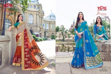 SERIES 34011 BY VIPUL FASHION CHILLI SILK SAREES DIWALI FESTIVAL COLLECTION WHOLESALE BEST ARTE BY GOSIYA EXPORTS SURAT (171)