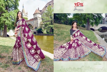 SERIES 34011 BY VIPUL FASHION CHILLI SILK SAREES DIWALI FESTIVAL COLLECTION WHOLESALE BEST ARTE BY GOSIYA EXPORTS SURAT (172)