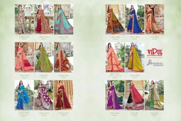 SERIES 34011 BY VIPUL FASHION CHILLI SILK SAREES DIWALI FESTIVAL COLLECTION WHOLESALE BEST ARTE BY GOSIYA EXPORTS SURAT (185)