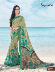 SEYMORE BY SUMMER 17 WHOLESALE GEORGETTE PRINTS SAREES BY SEYMORE BEST RATE (1)