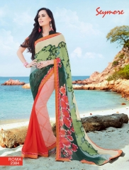 SEYMORE BY SUMMER 17 WHOLESALE GEORGETTE PRINTS SAREES BY SEYMORE BEST RATE (10)