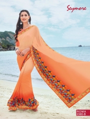 SEYMORE BY SUMMER 17 WHOLESALE GEORGETTE PRINTS SAREES BY SEYMORE BEST RATE (12)