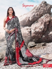 SEYMORE BY SUMMER 17 WHOLESALE GEORGETTE PRINTS SAREES BY SEYMORE BEST RATE (13)
