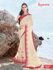 SEYMORE BY SUMMER 17 WHOLESALE GEORGETTE PRINTS SAREES BY SEYMORE BEST RATE (14)