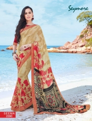 SEYMORE BY SUMMER 17 WHOLESALE GEORGETTE PRINTS SAREES BY SEYMORE BEST RATE (17)