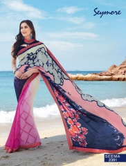 SEYMORE BY SUMMER 17 WHOLESALE GEORGETTE PRINTS SAREES BY SEYMORE BEST RATE (18)