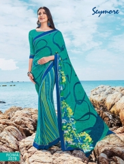 SEYMORE BY SUMMER 17 WHOLESALE GEORGETTE PRINTS SAREES BY SEYMORE BEST RATE (2)