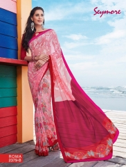 SEYMORE BY SUMMER 17 WHOLESALE GEORGETTE PRINTS SAREES BY SEYMORE BEST RATE (4)