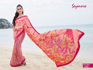 SEYMORE BY SUMMER 17 WHOLESALE GEORGETTE PRINTS SAREES BY SEYMORE BEST RATE (5)