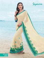 SEYMORE BY SUMMER 17 WHOLESALE GEORGETTE PRINTS SAREES BY SEYMORE BEST RATE (6)