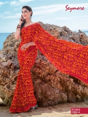 SEYMORE BY SUMMER 17 WHOLESALE GEORGETTE PRINTS SAREES BY SEYMORE BEST RATE (7)