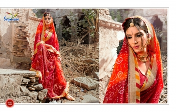 Seymore saree Chunariya Vol 2 Bandhani Leheriya Saree catalo WHOLESALE BEST RATE (12)