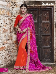Seymore saree Chunariya Vol 2 Bandhani Leheriya Saree catalo WHOLESALE BEST RATE (13)