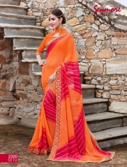 Seymore saree Chunariya Vol 2 Bandhani Leheriya Saree catalo WHOLESALE BEST RATE (4)