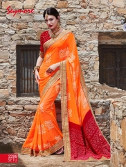 Seymore saree Chunariya Vol 2 Bandhani Leheriya Saree catalo WHOLESALE BEST RATE (8)
