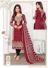 SHABANA KARACHI COTTON PRINTED DRESS WHOLESALE BEST RATE BY GOSIYA EXPORTS SURAT INDIA (1)