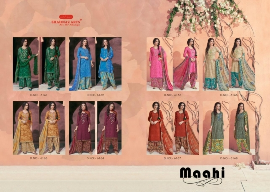 SHAHNAZ ARTS MAAHI COTTON SATIN PATIALA  (11)