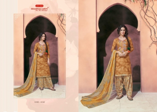 SHAHNAZ ARTS MAAHI COTTON SATIN PATIALA  (3)